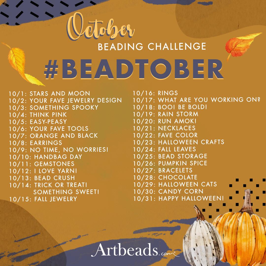October Beading Challenge