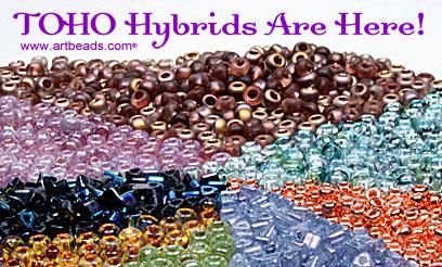 Hybrid Toho Seed Beads