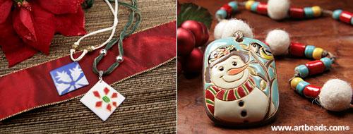 Artbeads.com holiday jewelry ideas