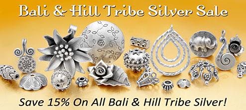 Bali & Hill Tribe Silver Sale