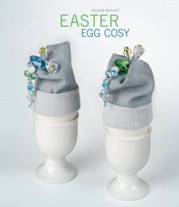 Swarovski DIY guide Easter Cosy