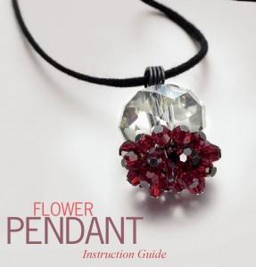 Flower Pendant--Swaro
