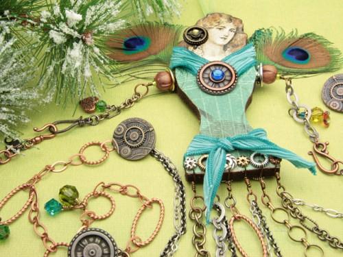 Gloria Christmas Ornament & Garland Design Instructions
