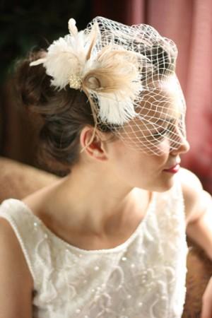 Birdcage Veil Photo Source QC Weddings