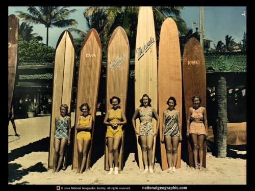 1938 Waikiki Surf Ride