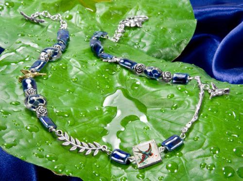 Sapphire Dawn Necklace Idea