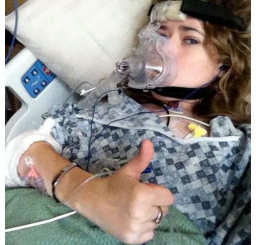 Amanda in the Hospital