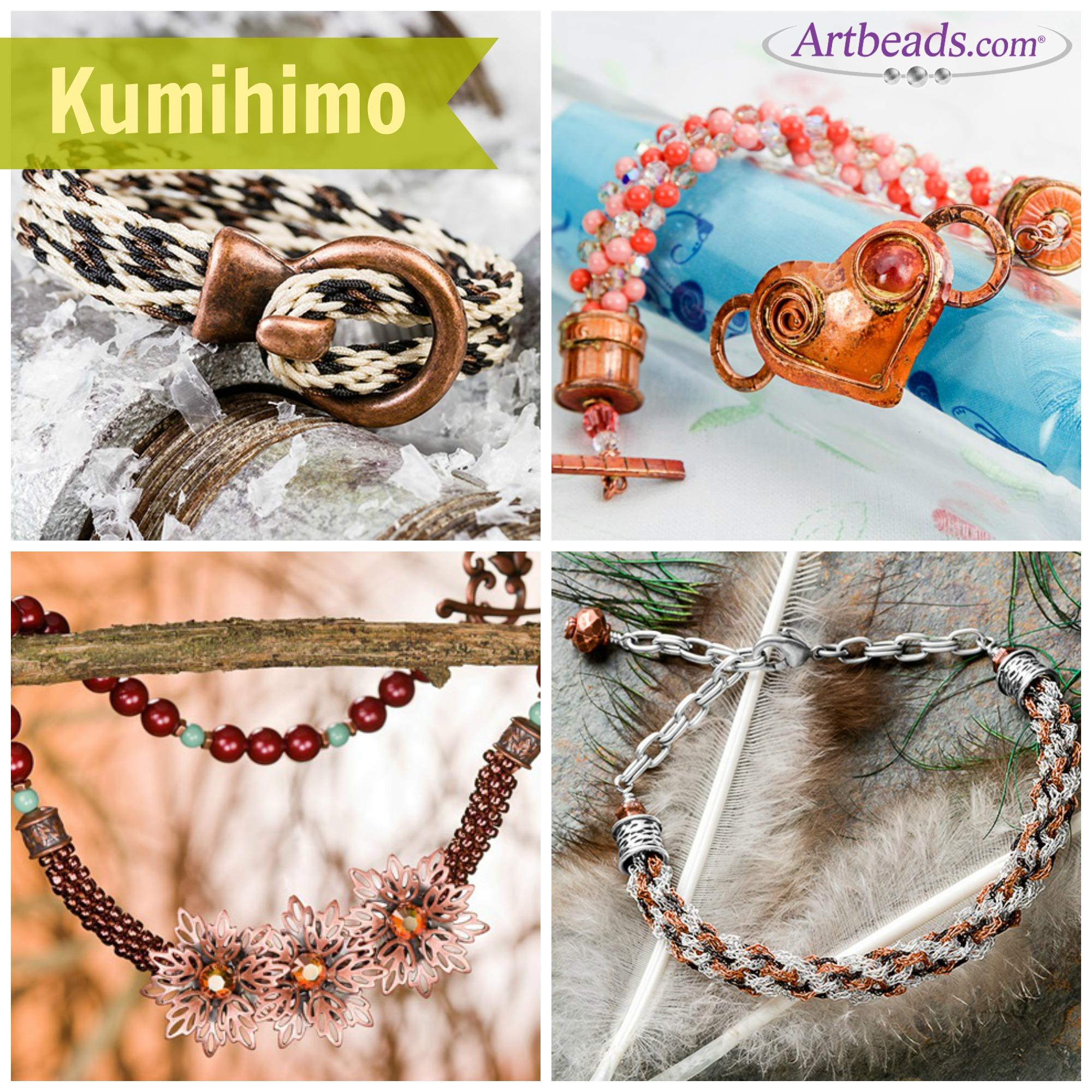 Kumihimo at Artbeads