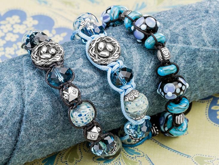 DIY Shamballa Bracelets