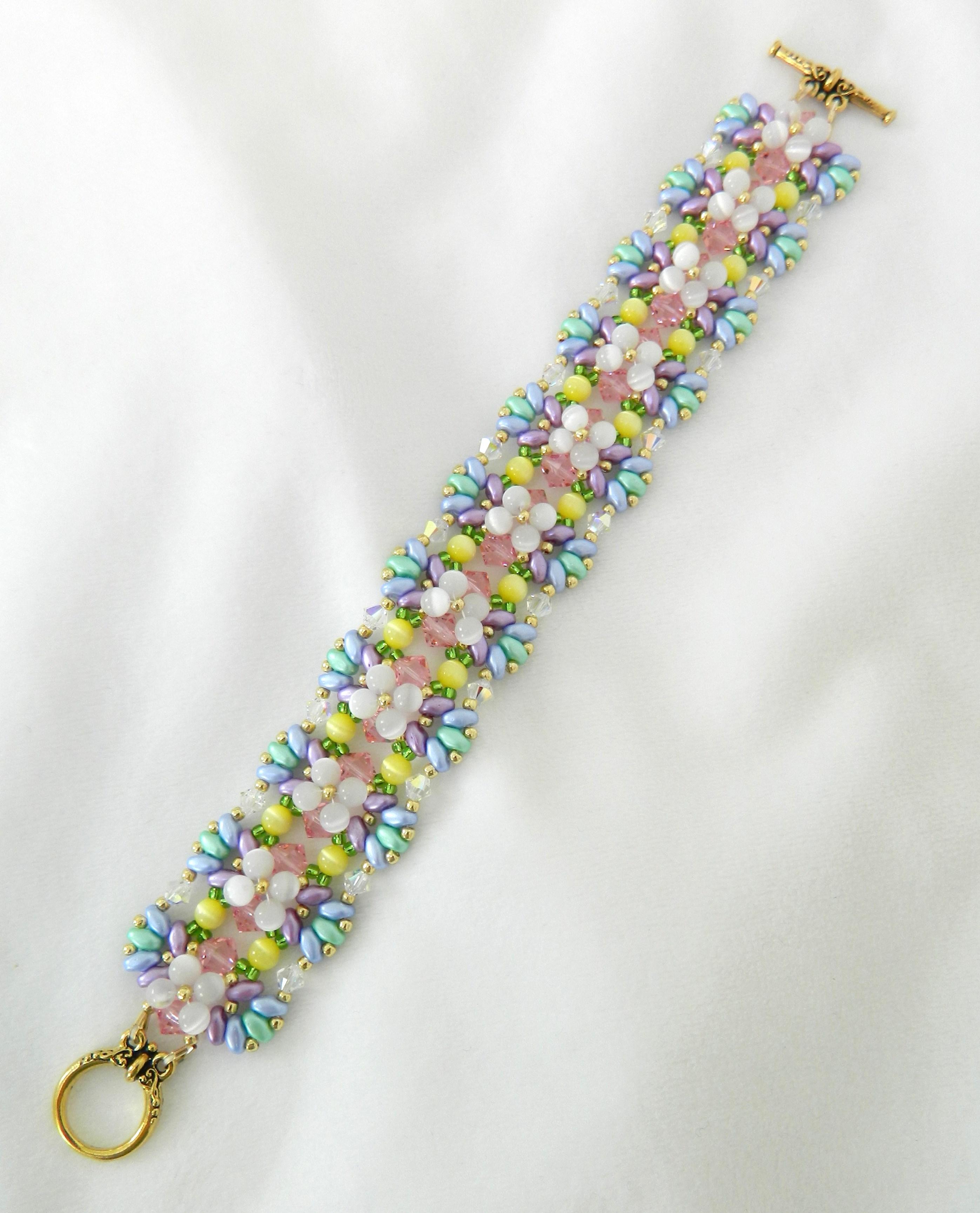 Linda's Spring Bracelet