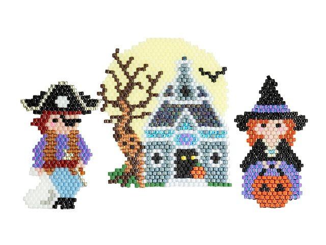 Halloween Jewelry Kit - Brick Stitch
