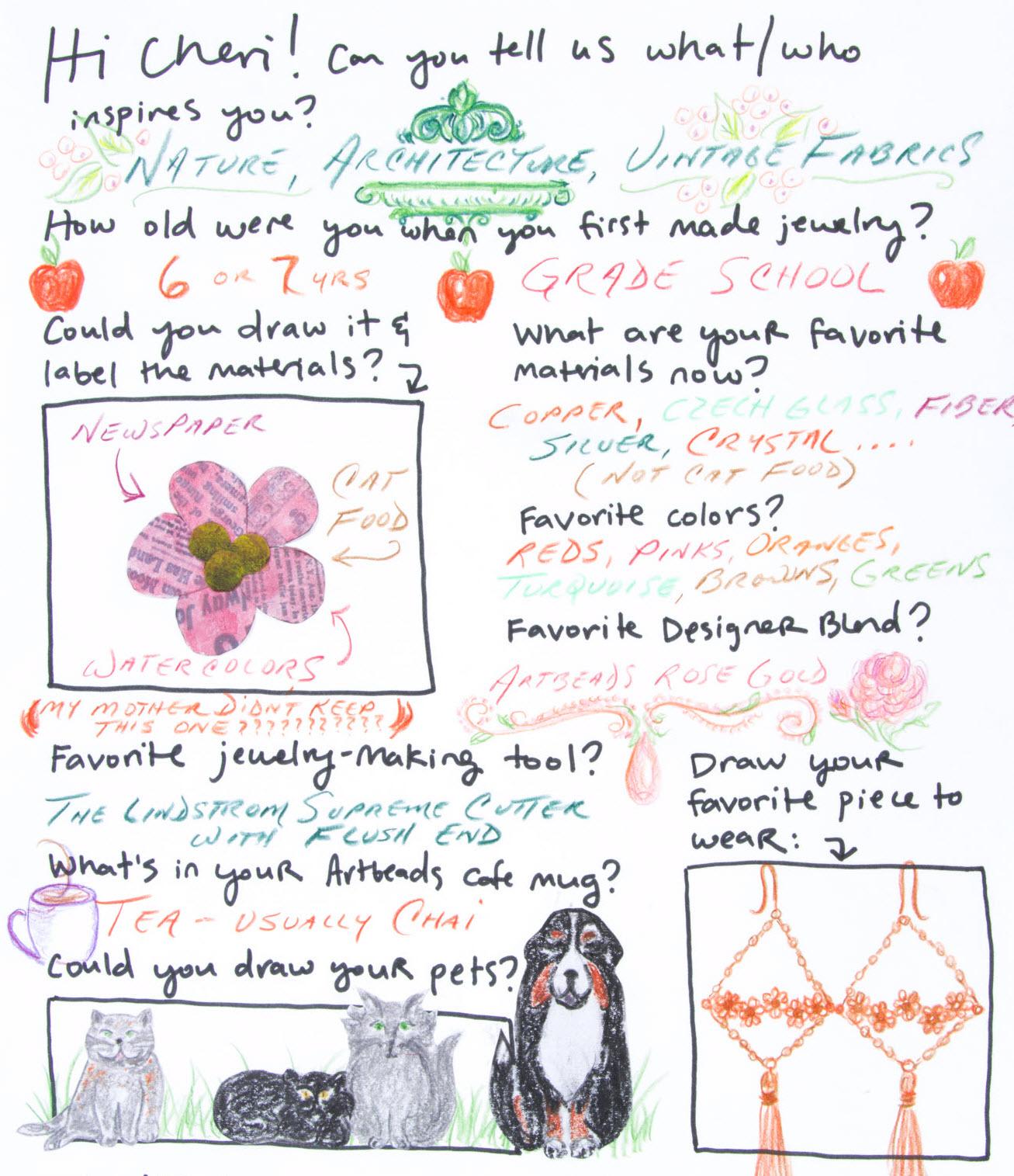 Cheri Carlson's Designer Profile