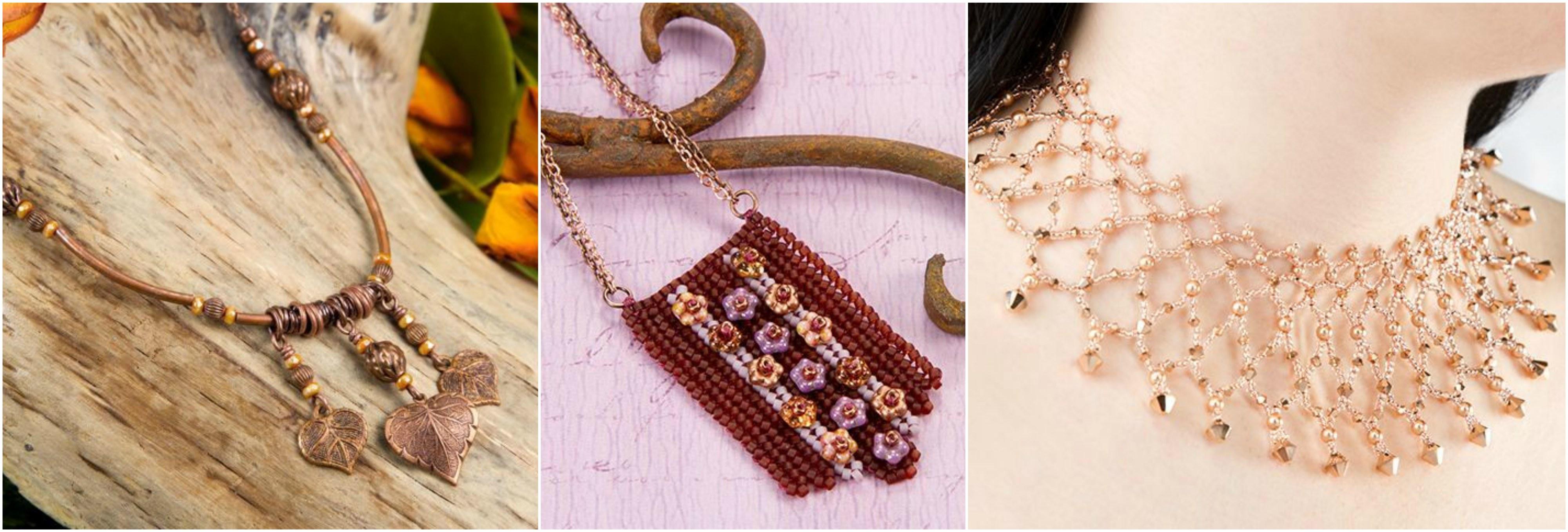 Artbeads designer Cheri Carlson's favorite necklaces.