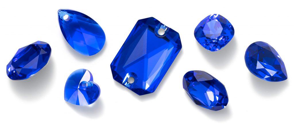 Swarovski Crystal Majestic Blue