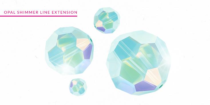 Swarovski Innovations - Opal Shimmer