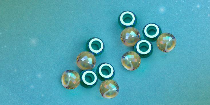 Swarovski Briolette XXL Hole Bead