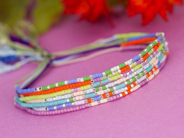 Besties Morse Code Bracelets