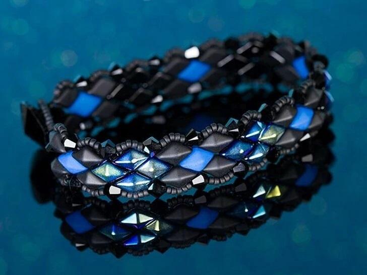 Two-Hole DiamonDuo Bracelet