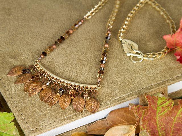 #Beadtober fall jewelry
