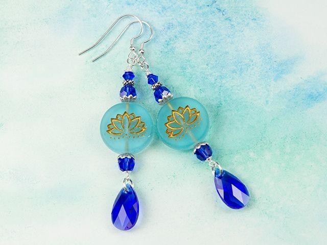 Lotus Coin Beads