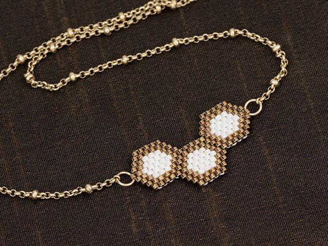 Golden Nectar Necklace