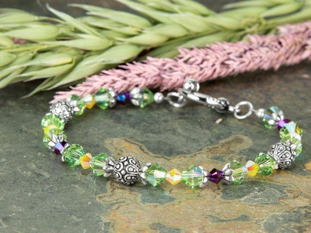 Shimmering Fields Bracelet