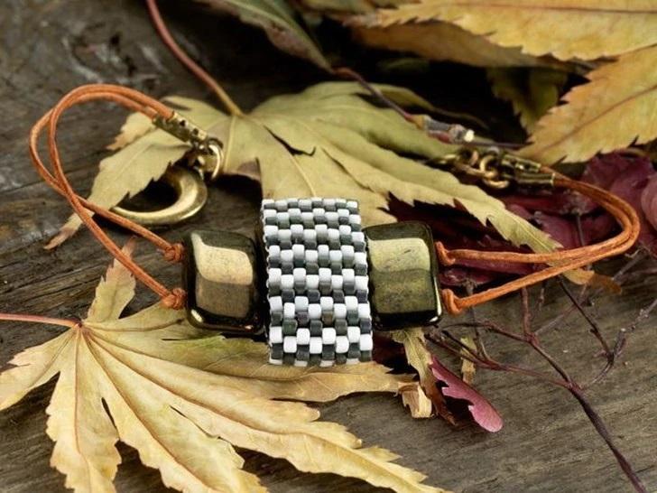 Two-Hole Carrier Bead Bracelet