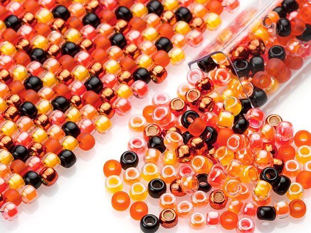 #Beadtober Halloween Designer Seed Bead Blend