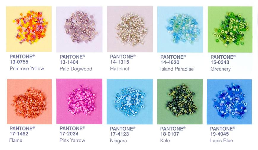 Spring 2017 Pantone Fashion Color Report