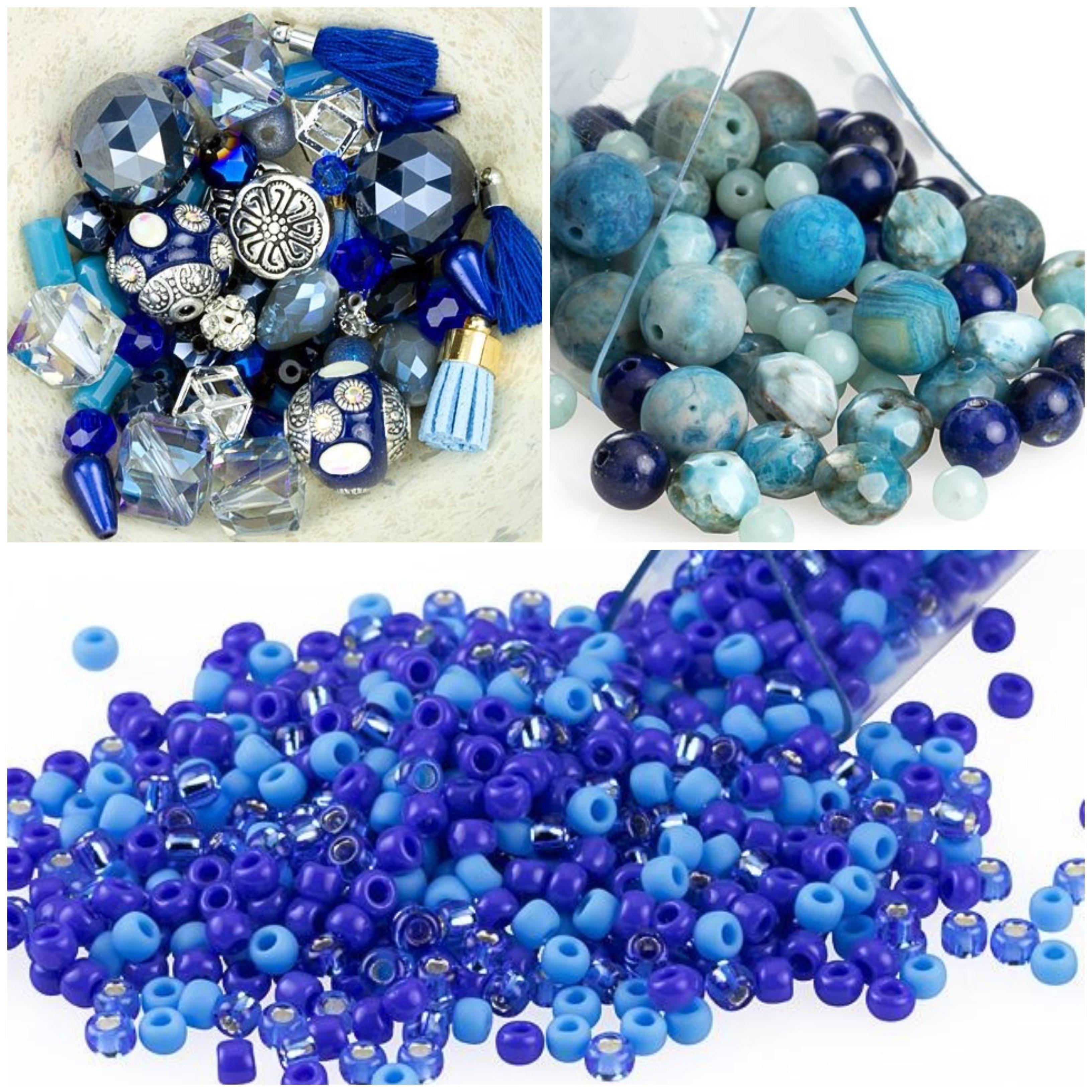 Classic Blue Bead Mixes