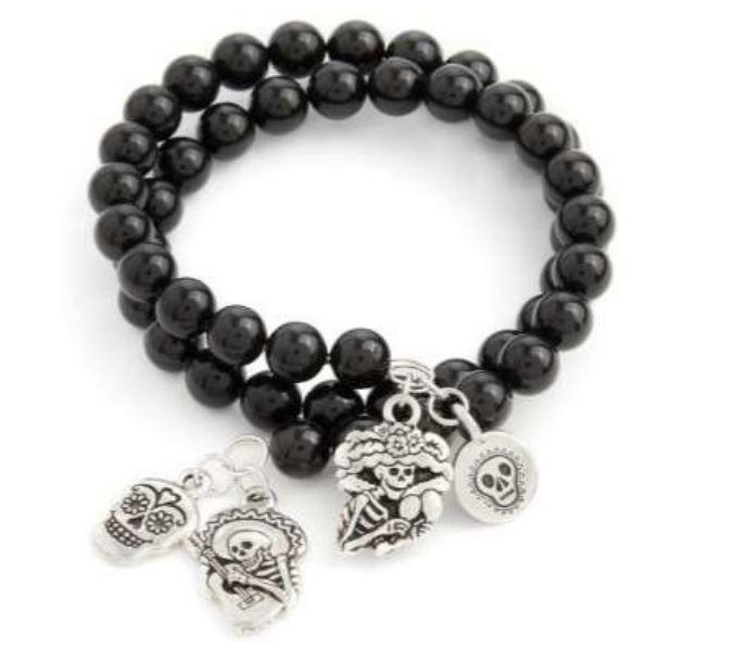 Swarovski Day of the Dead Bracelet
