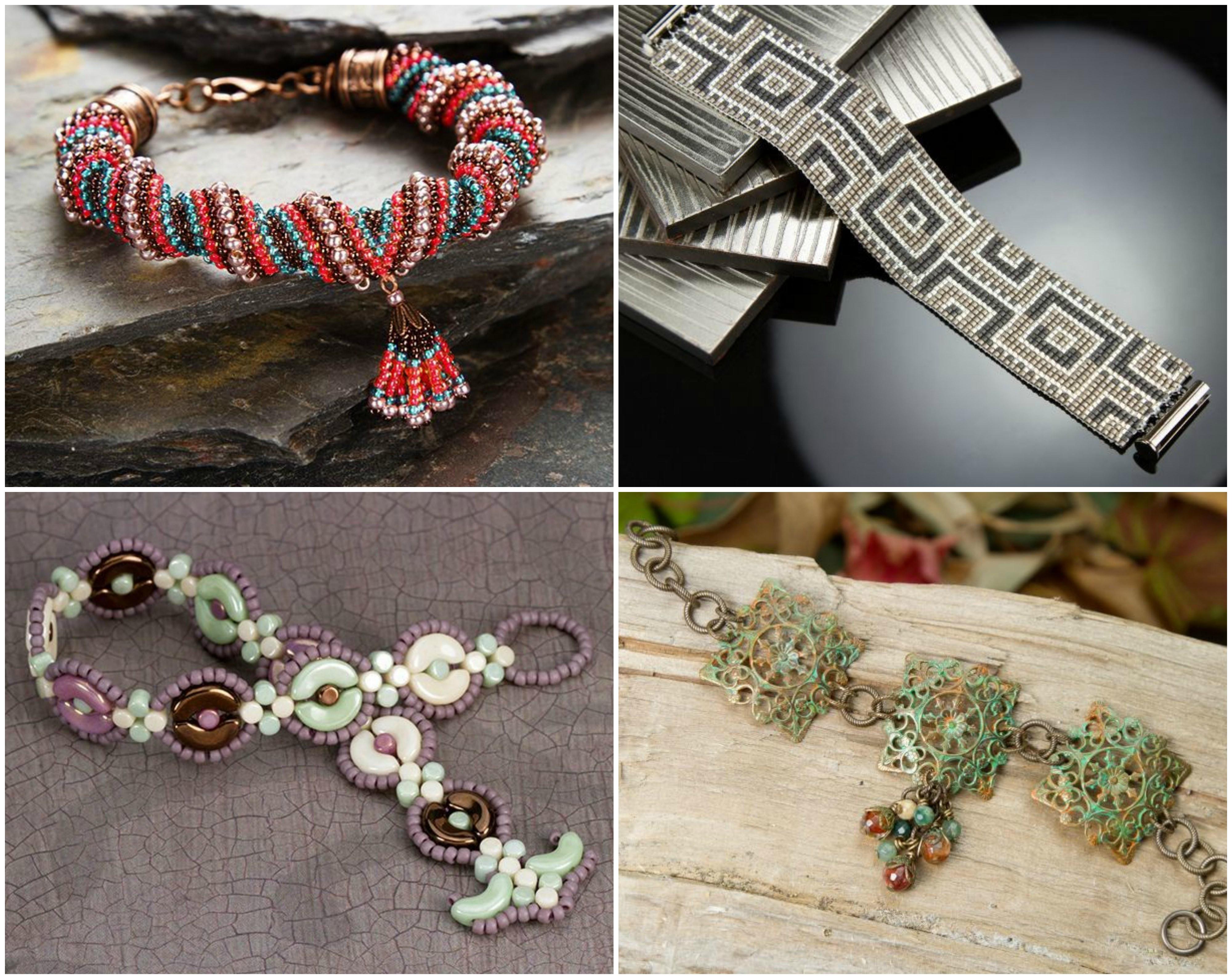 Artbeads designer Cheri Carlson's favorite bracelet designs.