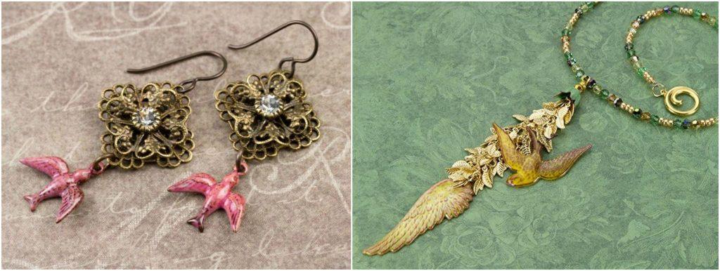 Birds in Jewelry