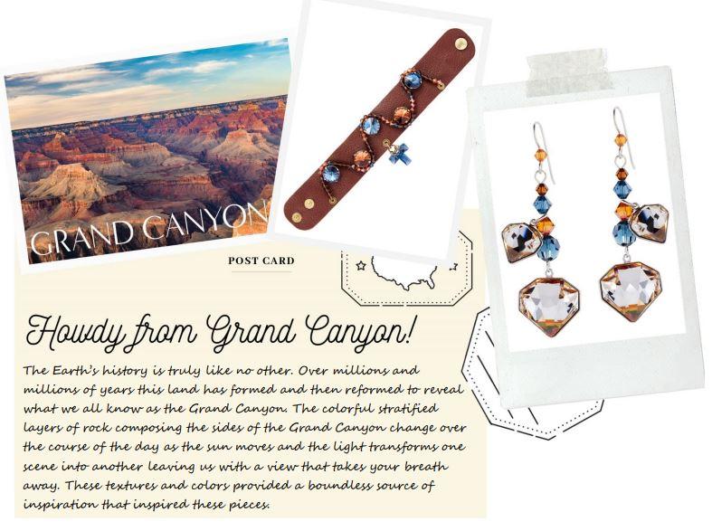 Swarovski Crystals Around the World – Grand Canyon