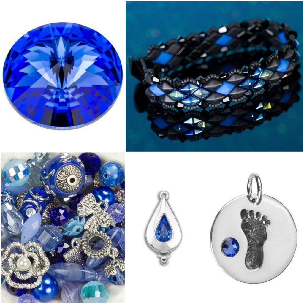 Sapphire Birthstone Jewelry Inspiration